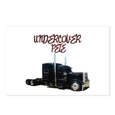 Undercover Pete Postcards (Package of 8)
