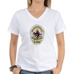 L.A. Foothill Division Women's V-Neck T-Shirt