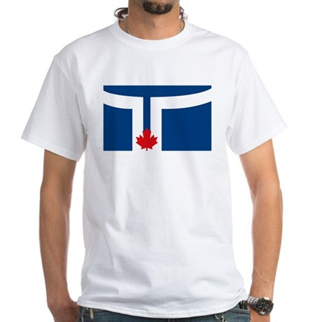 Toronto Flag White T-Shirt