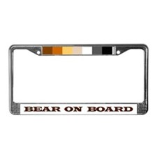 Cute Cubs men License Plate Frame