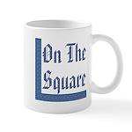 Masonic 'On The Square' Mug