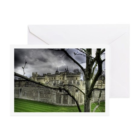 Moody Tower of London Card (Pk of 10)