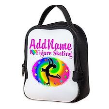 FIGURE SKATER Neoprene Lunch Bag