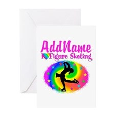 FIGURE SKATER Greeting Card