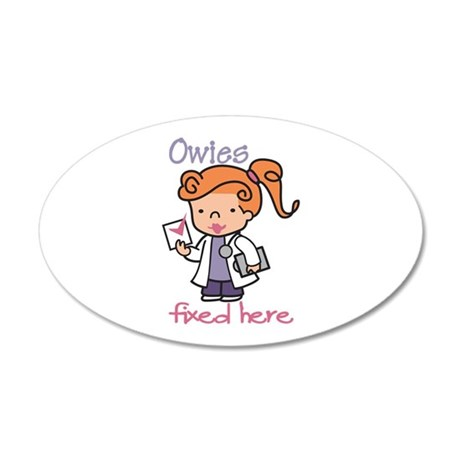 Owies Fixed Here Wall Decal