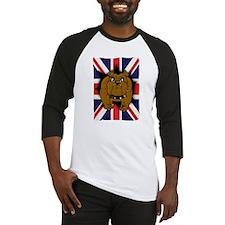 Union Jack British Bulldog Baseball Jersey