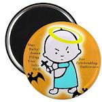 Baby Jesus Halloween Magnet