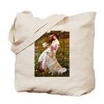 Windflowers / Golden Tote Bag