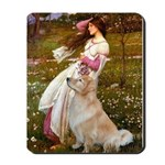Windflowers / Golden Mousepad