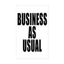 Business Rectangle Decal