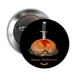 Bleeding Pumpkin Button