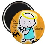 Baby Jesus Halloween Magnet