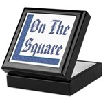 Masonic 'On The Square' Keepsake Box