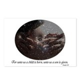For Unto Us a Child is Born Postcards