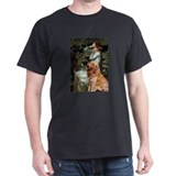 Ophelia & Golden Retriever T-Shirt