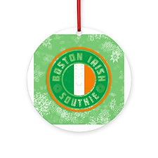 Boston Irish Southie Ornament (Round)
