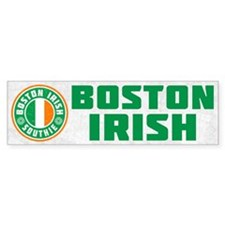 Boston Irish Southie Bumper Bumper Sticker
