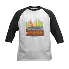 SF Golden Skyline Baseball Jersey