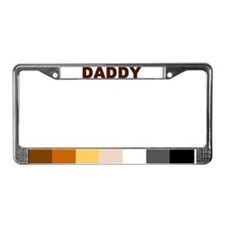 Funny Bear shop License Plate Frame