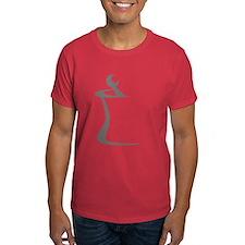 Gray Mortar and Pestle T-Shirt