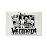 VERMONT Rectangle Magnet (100 pack)