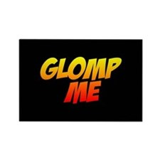 Glomp Me Rectangle Magnet