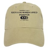 Property of German Wirehaired Pointer Baseball Cap