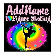 GRACEFUL SKATER Invitations