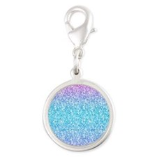 Colorful Retro Glitter And Sparkles Charms