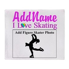 SUPER STAR SKATER Throw Blanket