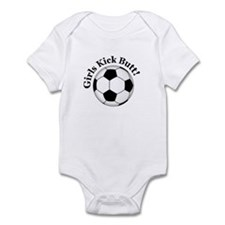Girls Kick Butt Infant Bodysuit