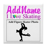 Figure skating Drink Coasters