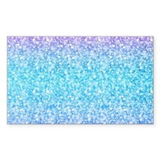 Colorful Retro Glitter And Sparkles Decal