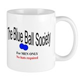 Blue Ball Society Mug