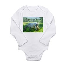 Funny Appaloosa horses Long Sleeve Infant Bodysuit