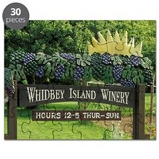 And rows of grape vinesy Island. Entrance t Puzzle