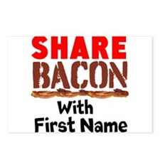 Share Bacon With Postcards (Package of 8)