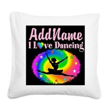 GRACEFUL DANCER Square Canvas Pillow