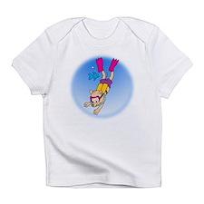 Unique Skiing kids Infant T-Shirt