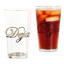 Unique Deja Drinking Glass