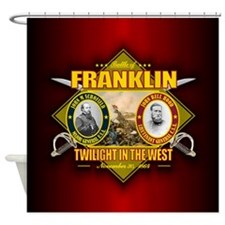 Franklin (battle)1.png Shower Curtain
