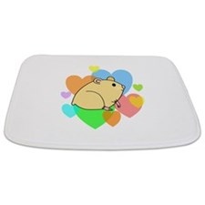 Hamster Hearts Bathmat