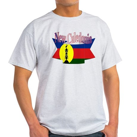 New Caledonian flag ribbon Light T-Shirt