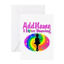 LOVE BALLET Greeting Card