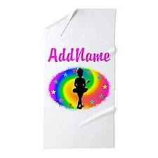 LOVE BALLET Beach Towel