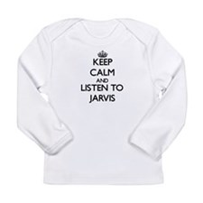 Keep Calm and Listen to Jarvis Long Sleeve T-Shirt