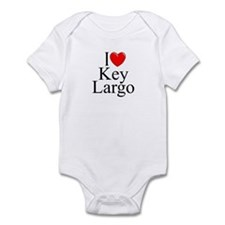"""I Love Key Largo"" Infant Bodysuit"