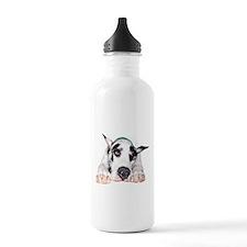 Great Dane Shy Harlequ Water Bottle