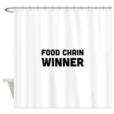 Food chain winner Shower Curtain