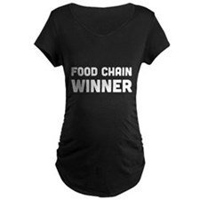 Food chain winner Maternity T-Shirt